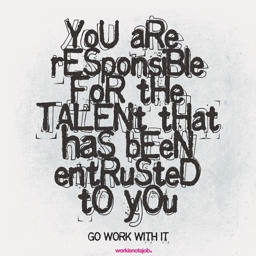 Talent quote