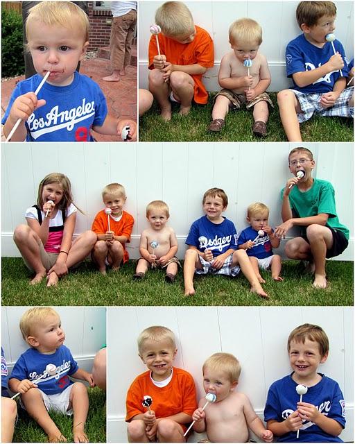 Kids love cake pops