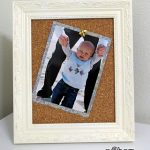 Revamped Picture Frames DIY: push pin bonus