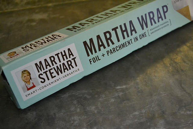 Martha Stewart foil and parchment
