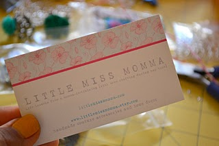 Little Miss Momma business card