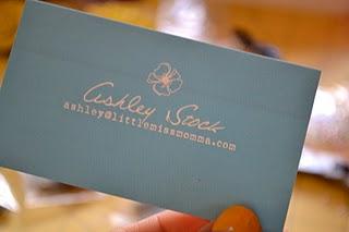 Little Miss Momma business card