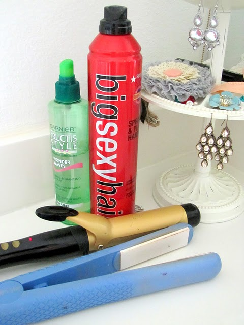 Hair products for wavy hair
