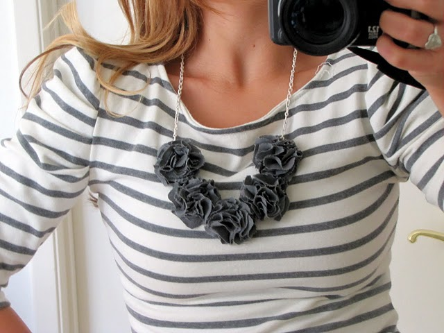 How to make a bib necklace