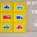 DIY car and truck wall art
