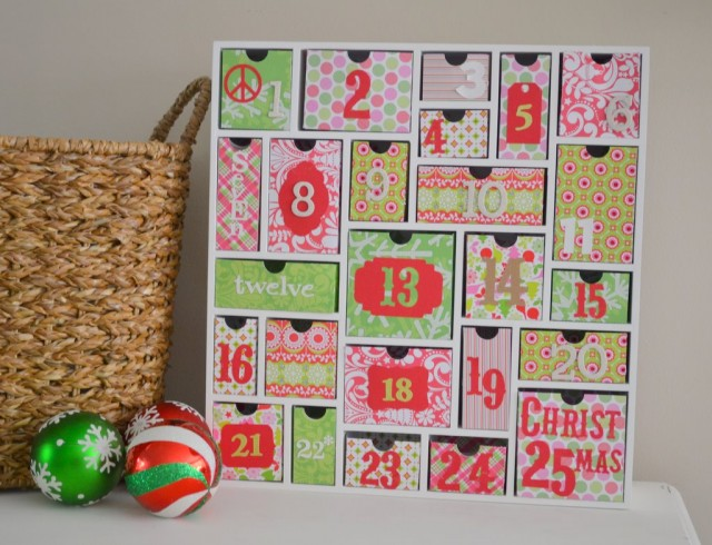 Advent Calendar Diy Kit : How to make an advent calendar for christmas