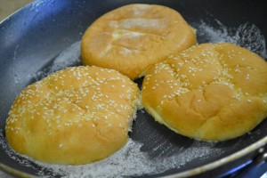 grilled buns