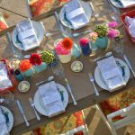 Summer Dinner Party Tablescape