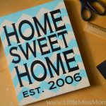 How to use vinyl to create a stencil