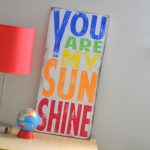 Barn Owl Primitives You Are My Sunshine Typography Wall Art