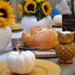 pumpkin table place settings
