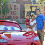 lightening mcqueen cars land