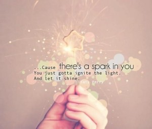 baby you're a firework quote