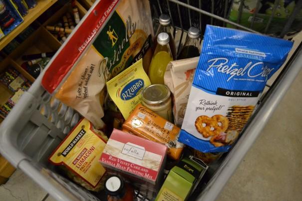 world market food section
