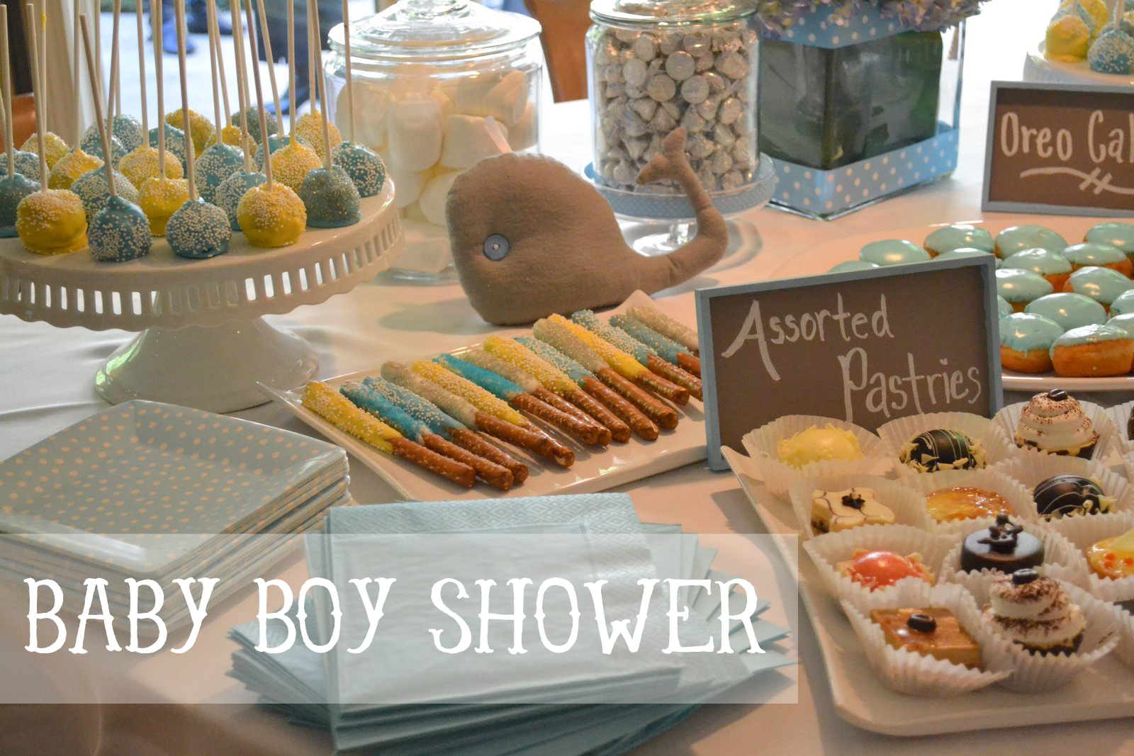 boy baby shower themes 2013 whale baby boy shower ideas