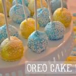 oreo cake pops recipe