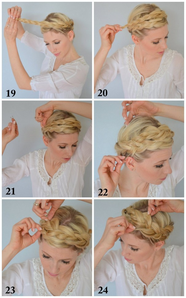 Tuto tresse n 3 la tresse couronne fashion tips tricks - Tuto tresse couronne ...
