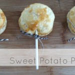 sweet potato pie pops