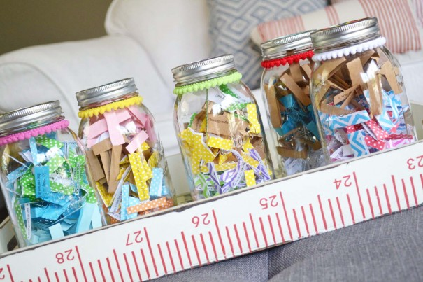decorate mason jars tutorial