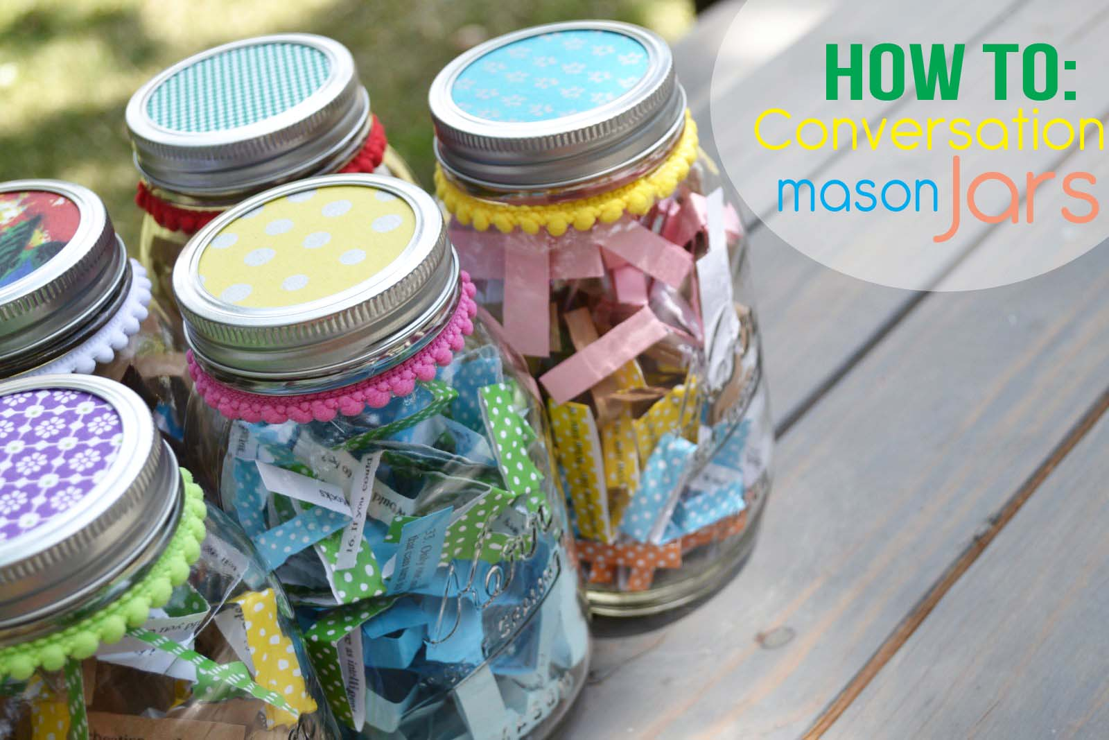 Family Conversation Jars Craft Little Miss Momma