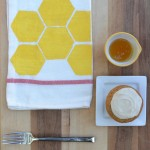 DIY Honeycomb Dish Towel