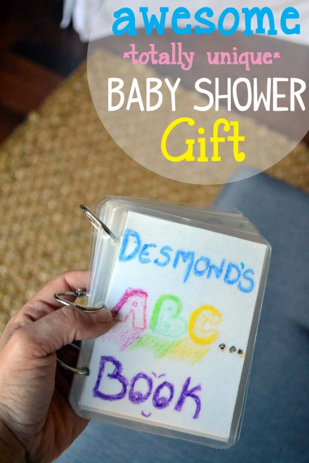 Awesome, Sentimental Baby Shower Gift