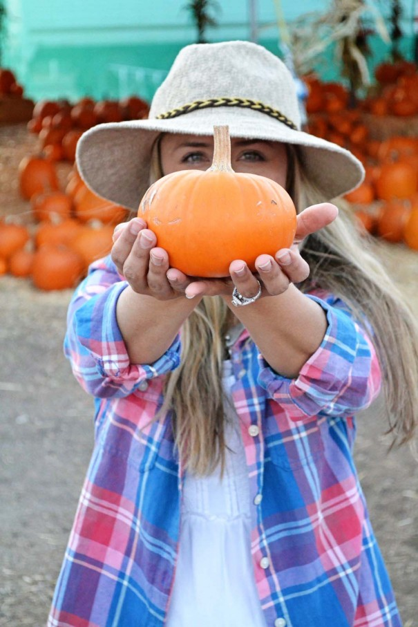 me and pumpkin