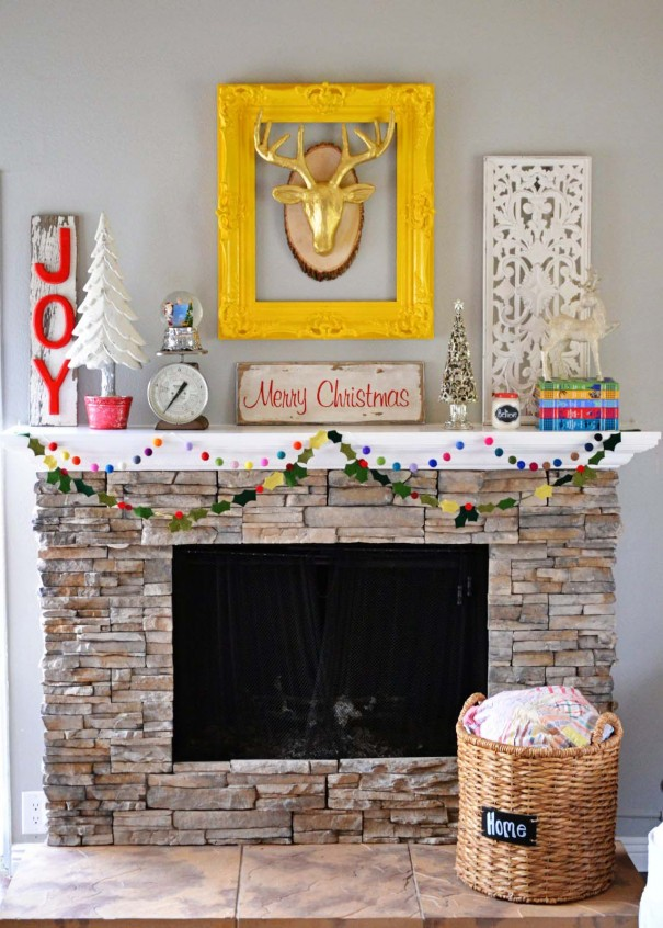 Christmas Fireplace 1
