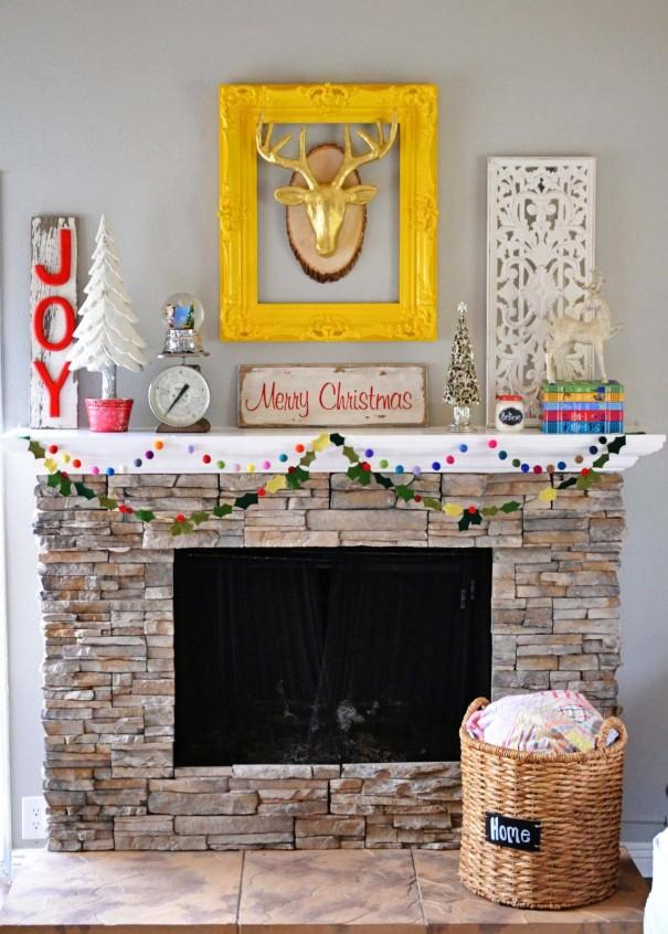 Christmas Fireplace 1
