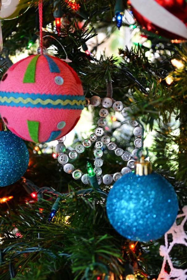 colorful ornaments