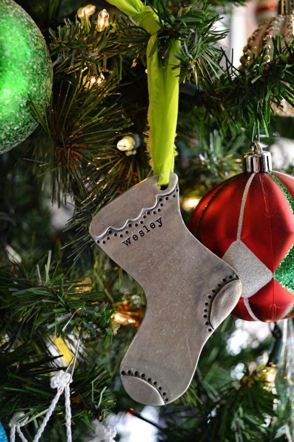 lisa leonard stocking ornament