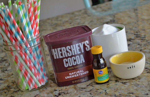 mint hot chocolate ingredients