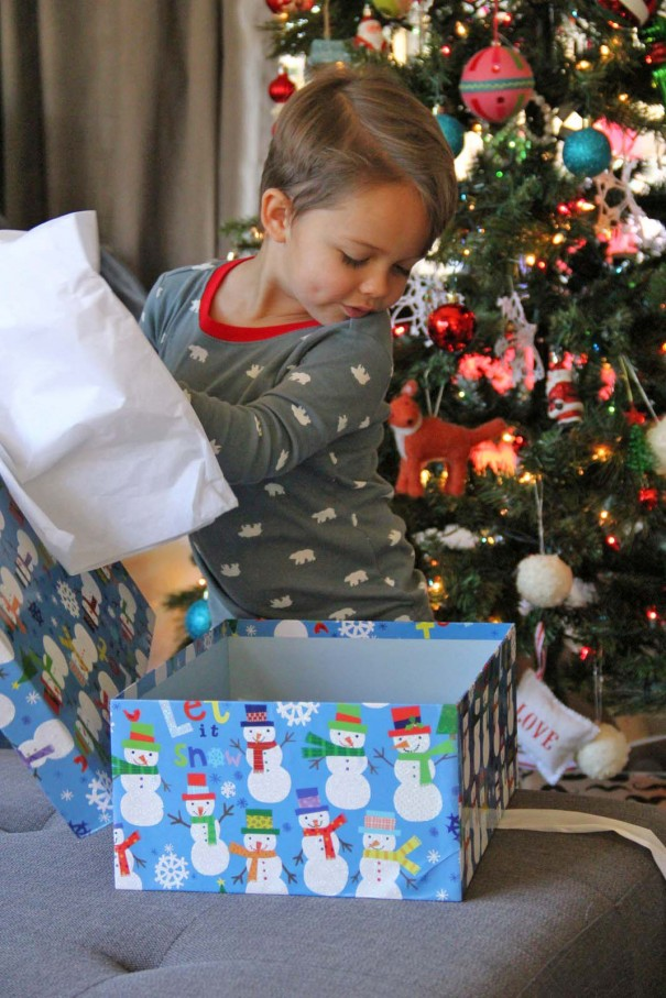 wes opening gift