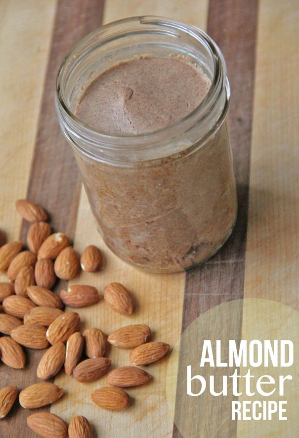almond butter recipe title
