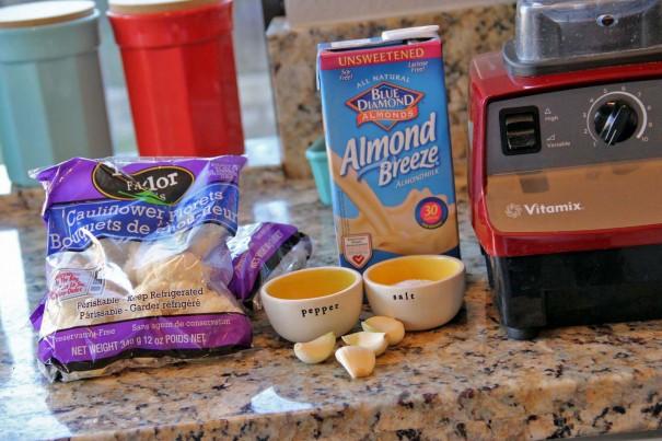 mashed cauliflower ingredients