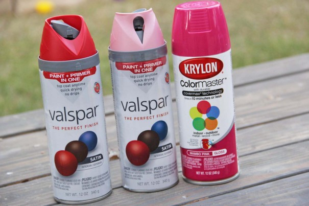 valentines day spray paint colors