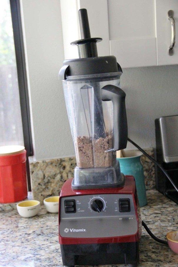 vitamix almond butter recipe