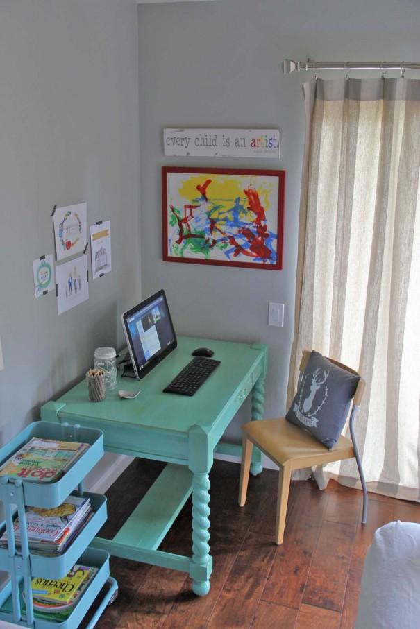 desk area after 1