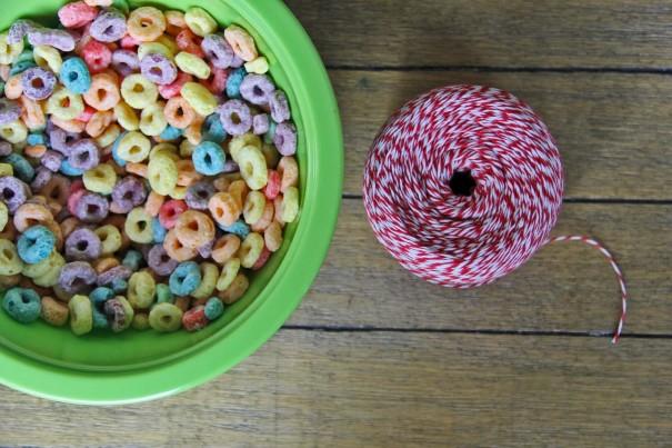 fruit loop necklaces diy