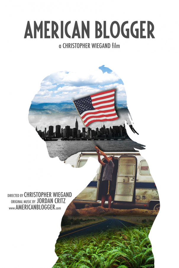 American Blogger Poster 001 - Casey Profile with Flag WITH CREDITS 4200x6300