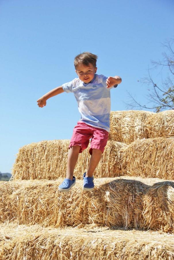 underwood farms hay stack