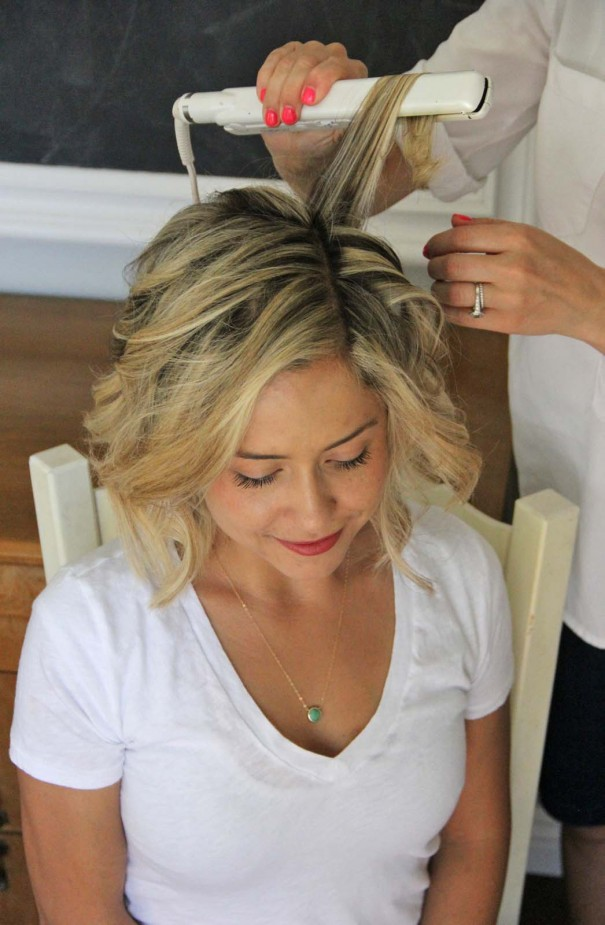 How To Beach Waves For Short Hair