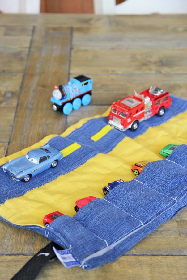 Sew A Toy Car Holder : Whats in my bag style little miss momma