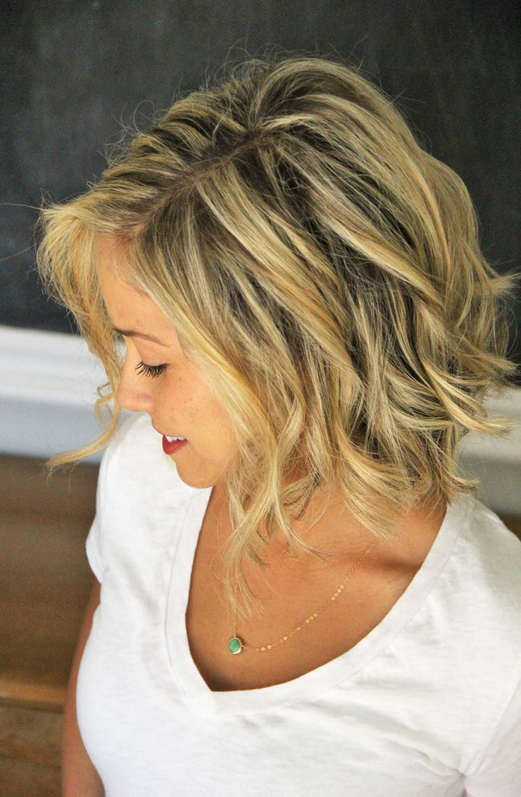 How To Beach Waves For Short Hair Style Little Miss Momma