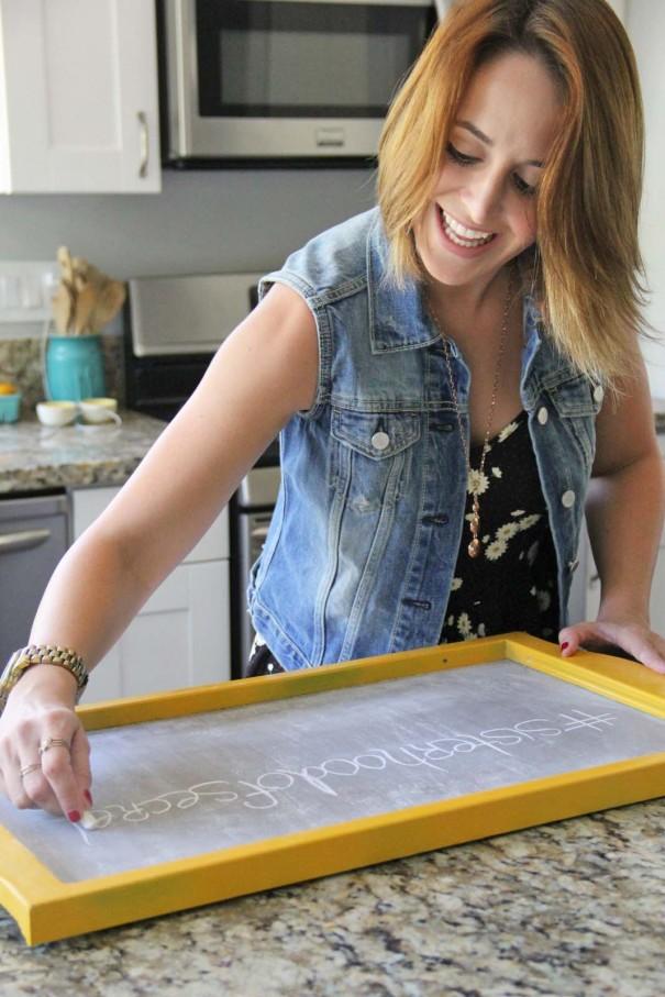 lacey chalkboard