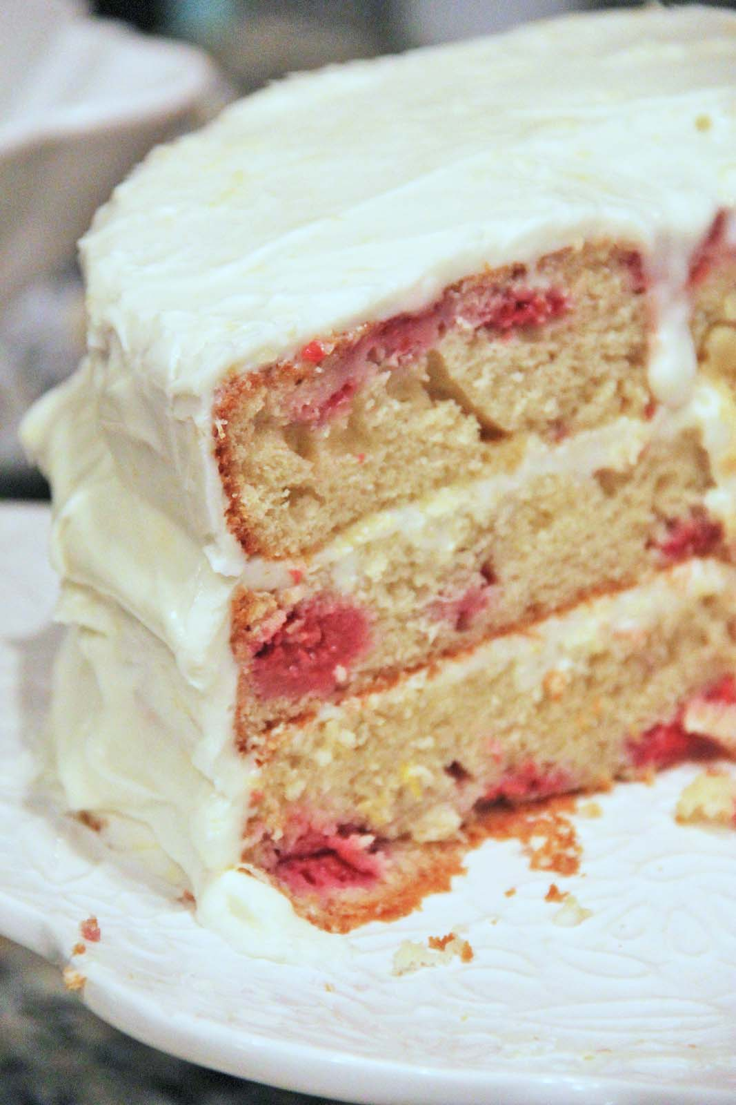 Lemon Raspberry Cake Or Loaf Muffins†...