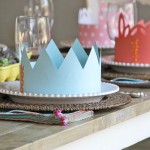 paper crowns dinner party