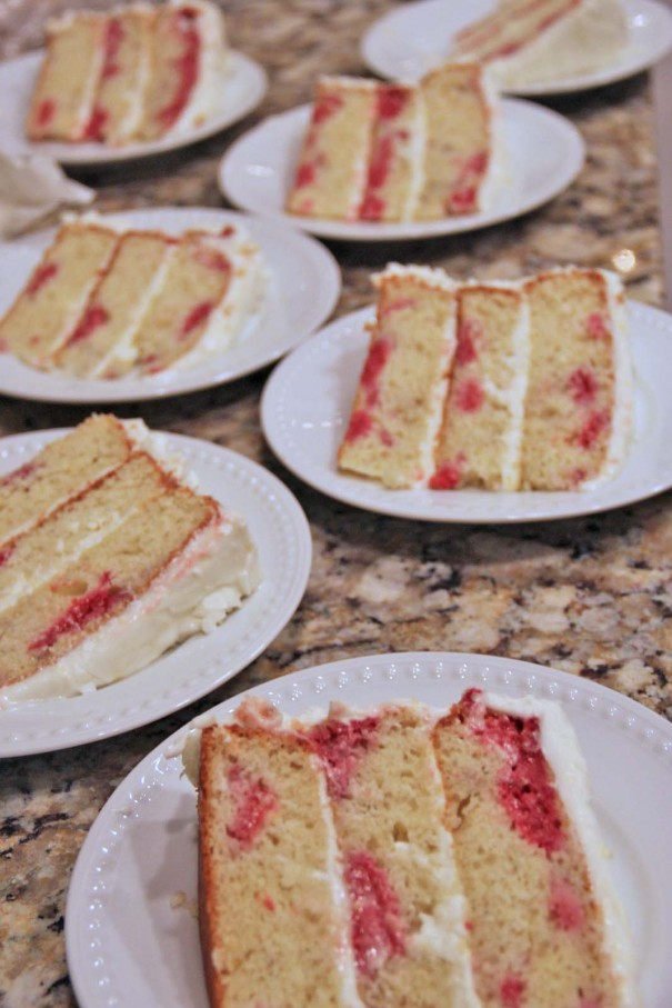 raspberry lemon yogurt cake