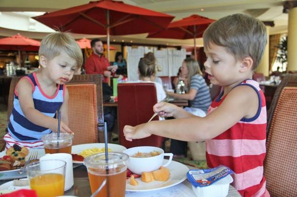 boys breakfast