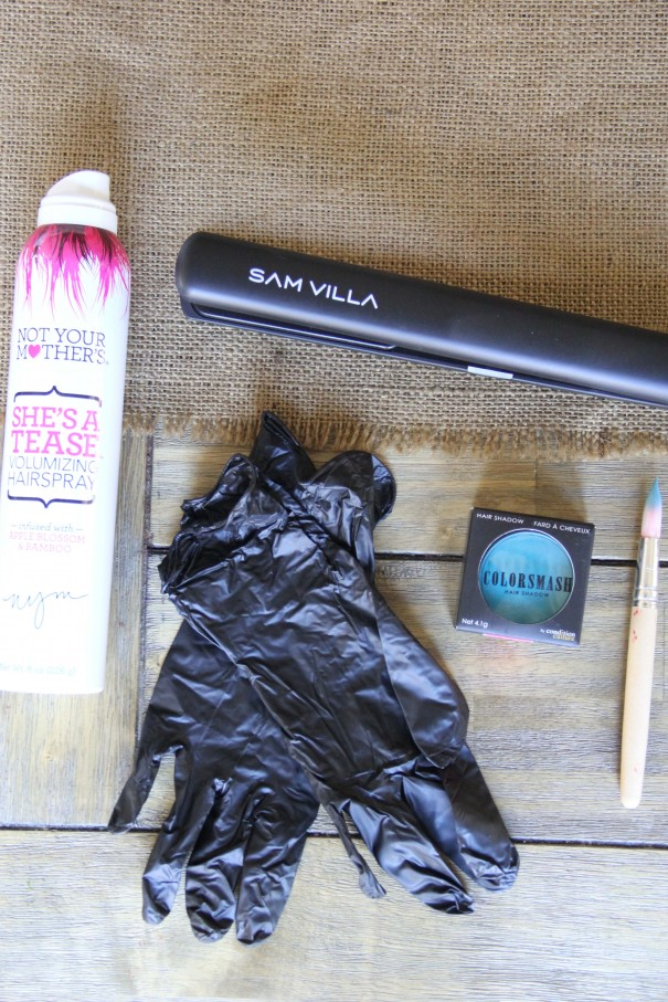 dye hair with chalk how to